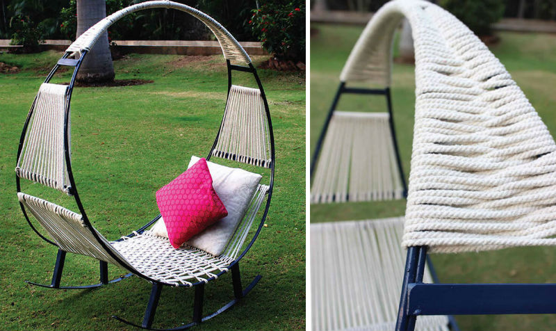 hammock chair outdoor feat