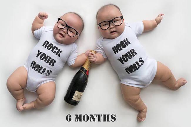 cute twins baby photos 9