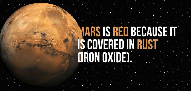 facts about mars 6