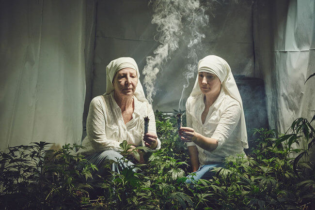 Nuns Growing Weed 1