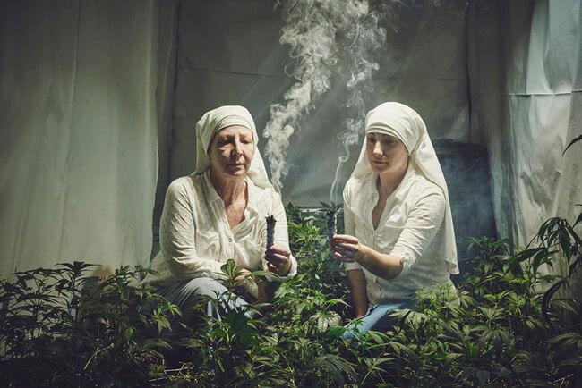 Nuns Growing Weed 1