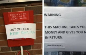 out of order sign feat