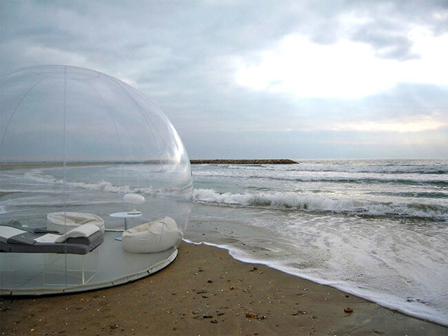 crystal bubble tent 2 & Crystal Bubble Tent Lets You Sleep While Counting Stars