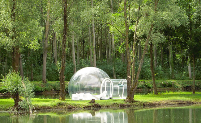 crystal bubble tent 6