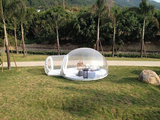 crystal bubble tent 4