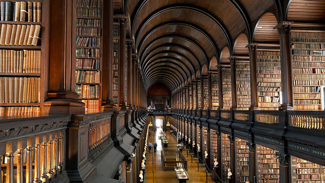 trinity college library 3