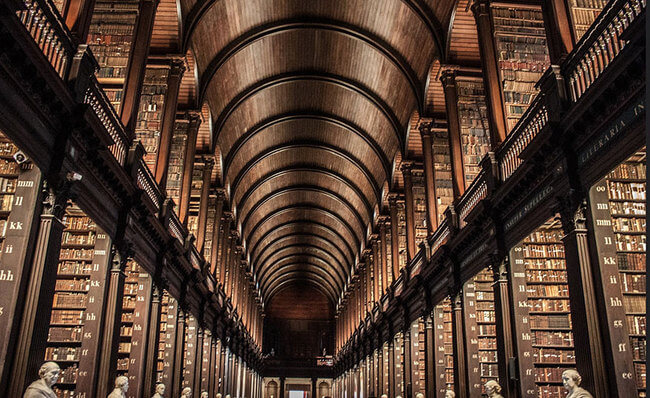 trinity college library 6