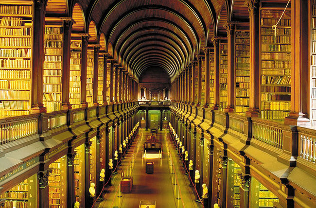 trinity college library 8