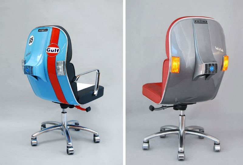 Cool Vespa Office Chair