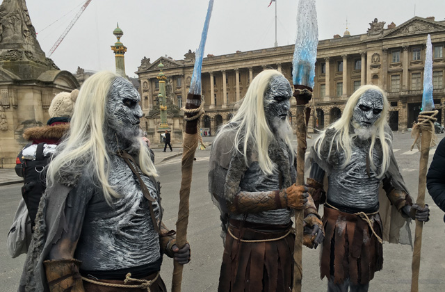 white walkers game of thrones 2