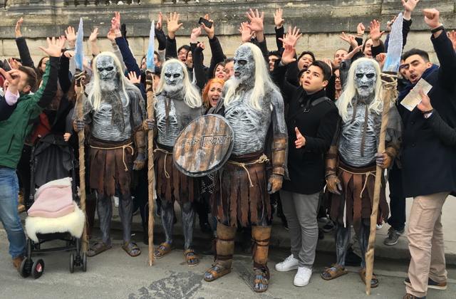 white walkers game of thrones 3