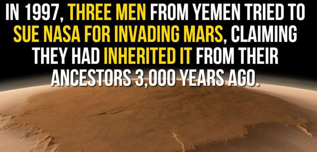 facts about mars 12