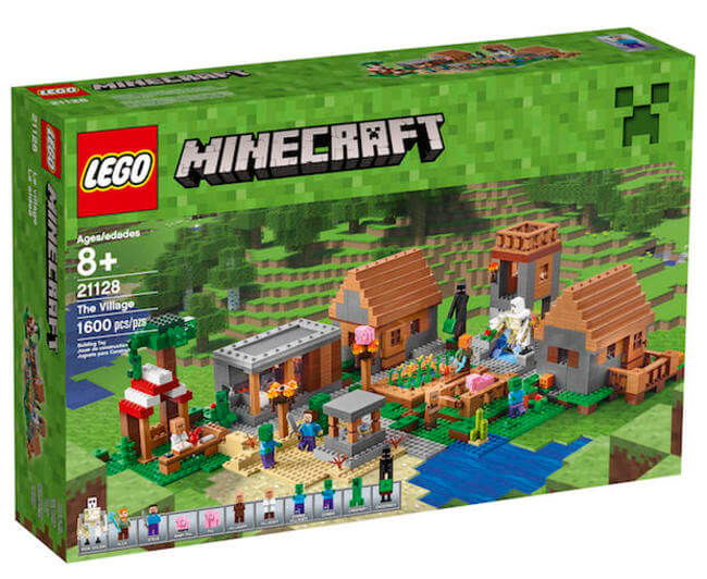LEGO Is Creating a 1,600 Piece Minecraft Village Set 3