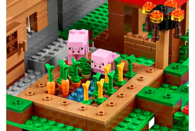 LEGO Is Creating a 1,600 Piece Minecraft Village Set 2
