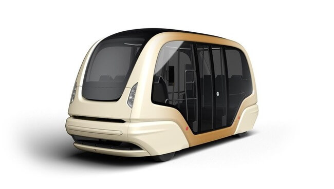 futuristic driverless pods vehicles 5