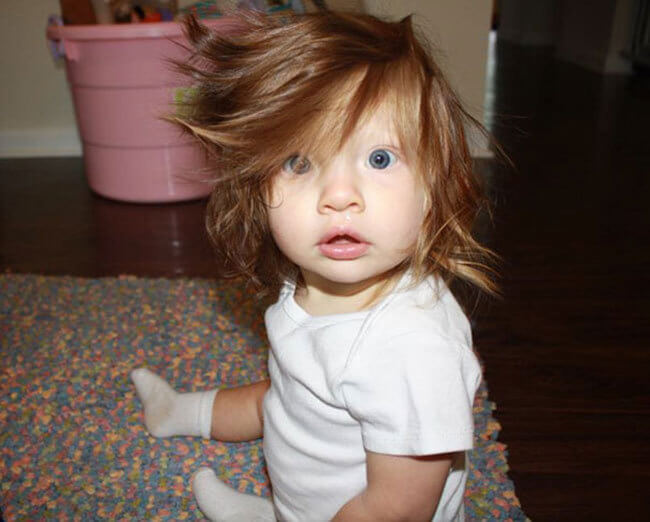 babies with hair 1