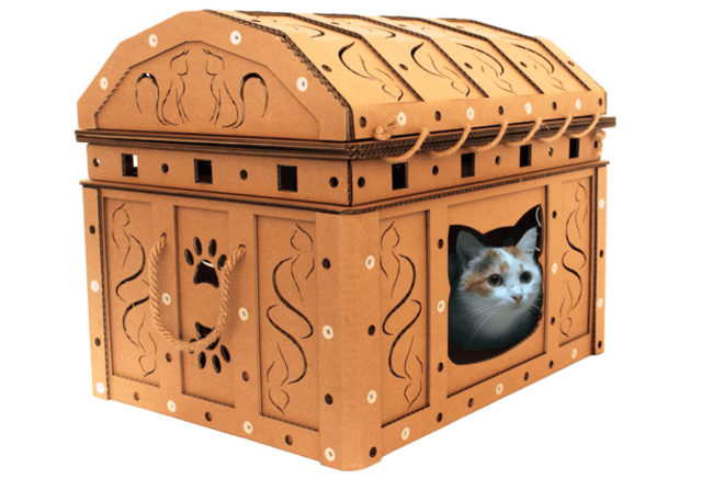 Cardboard Boxes for cats 2
