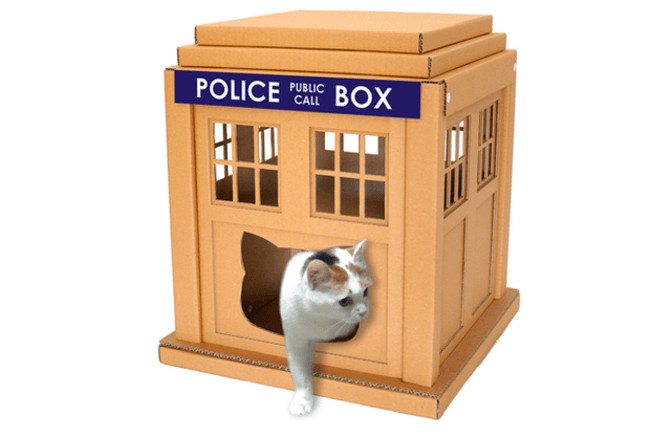 Cardboard Boxes for cats 3