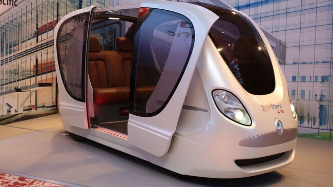 Futuristic Driverless Pods Will Run On Singapore's Roads 4