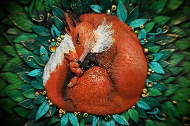 Handmade Fairy Tale Book Covers 6