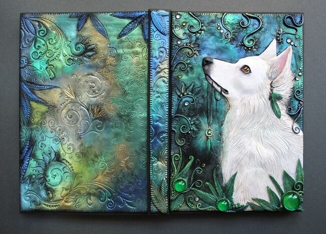 Handmade Fairy Tale Book Covers 14