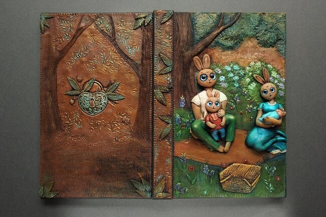 Handmade Fairy Tale Book Covers 16