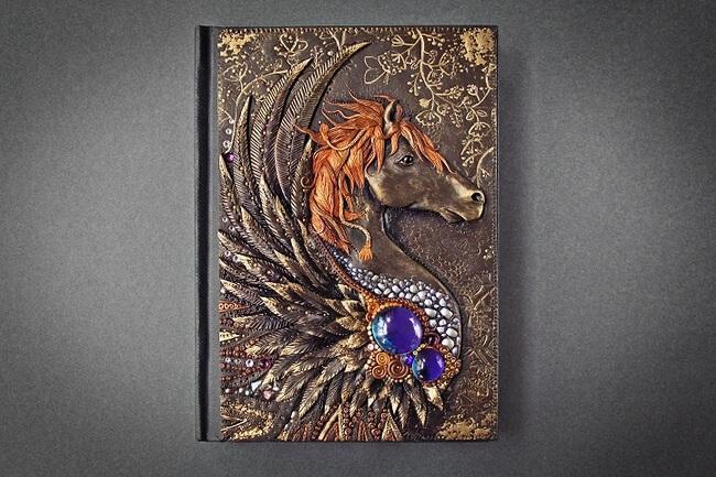 Handmade Fairy Tale Book Covers 8