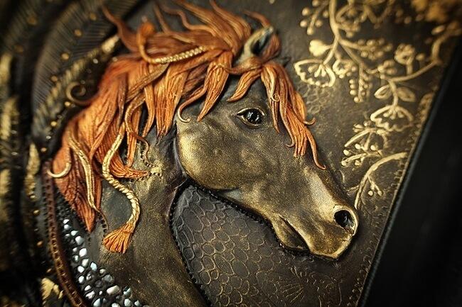 Handmade Fairy Tale Book Covers 9