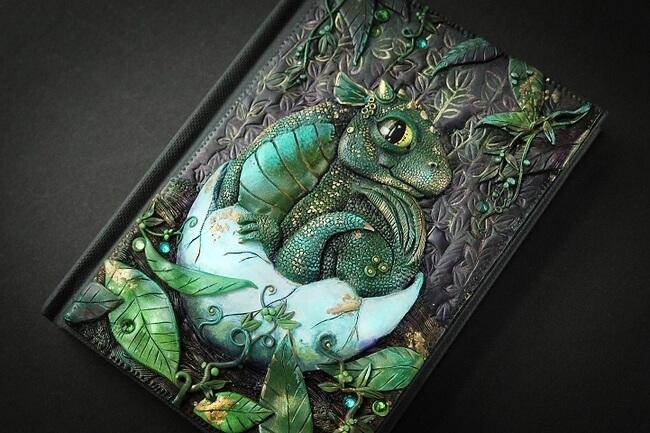 Handmade Fairy Tale Book Covers 10