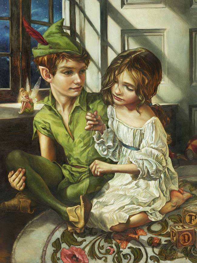 Disney Paintings as fine art 3