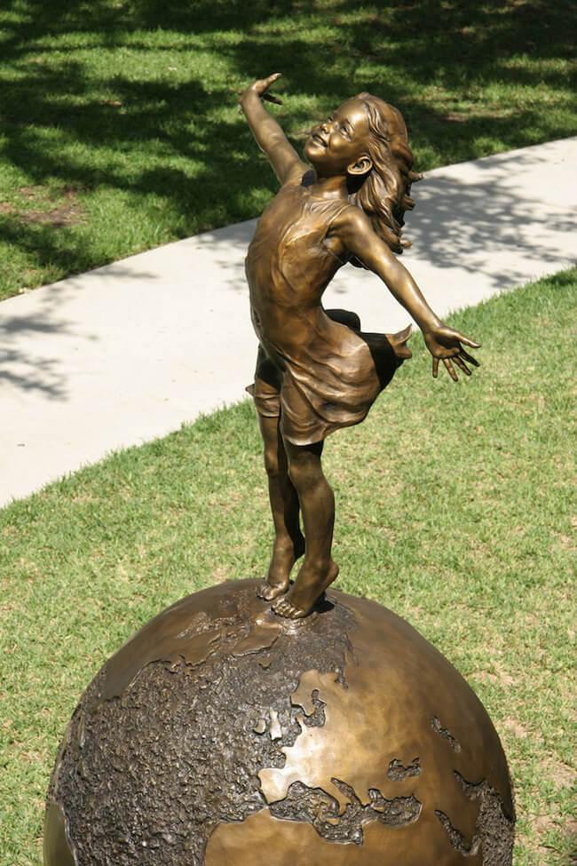 human bronze sculpture 5