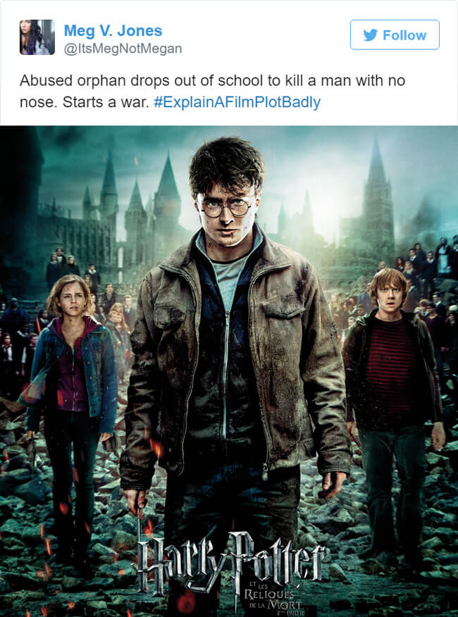 harry potter movie plot summaries