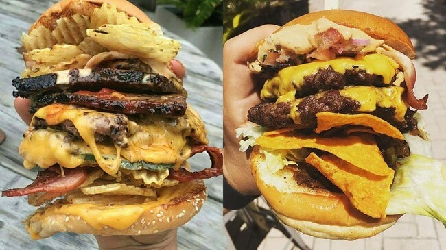 burger combinations 1