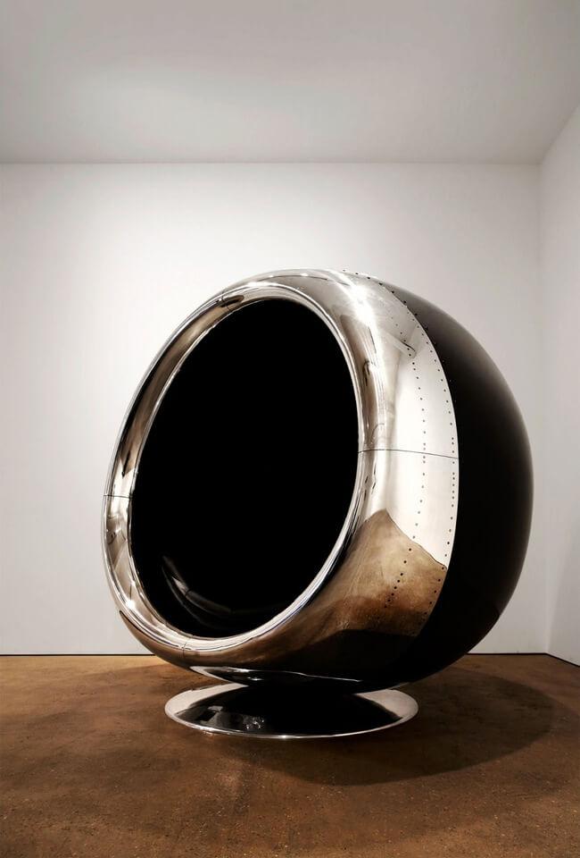 Repurposed Boeing 737 Engine Chair 2