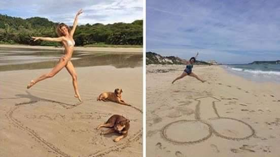 Woman Recreates Celebrity Instagram Photos 3