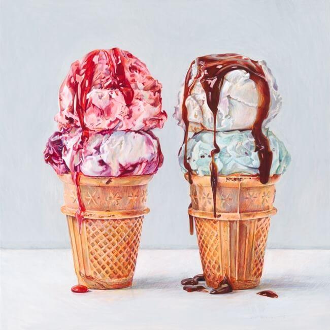 food art paintings 5