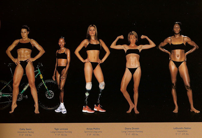 olympic athlete body types 2