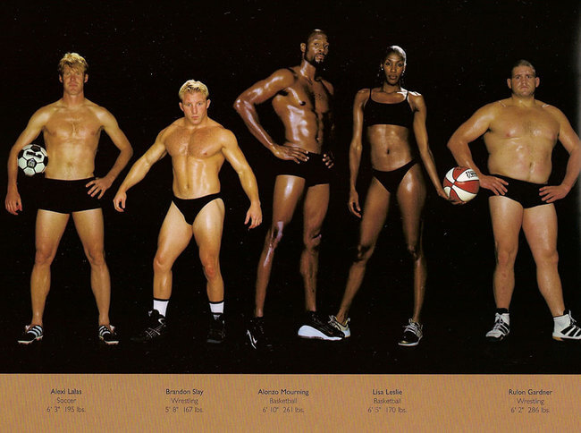 olympic athlete body types 1