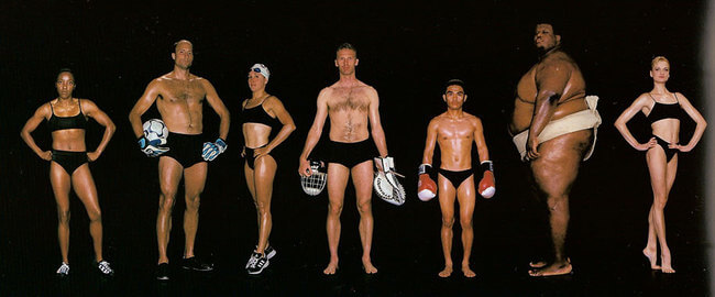 olympic athlete body types 12