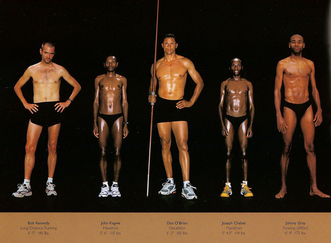 olympic athlete body types 5