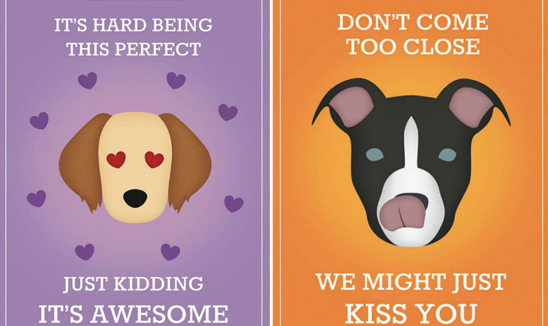 dog breed slogans feat