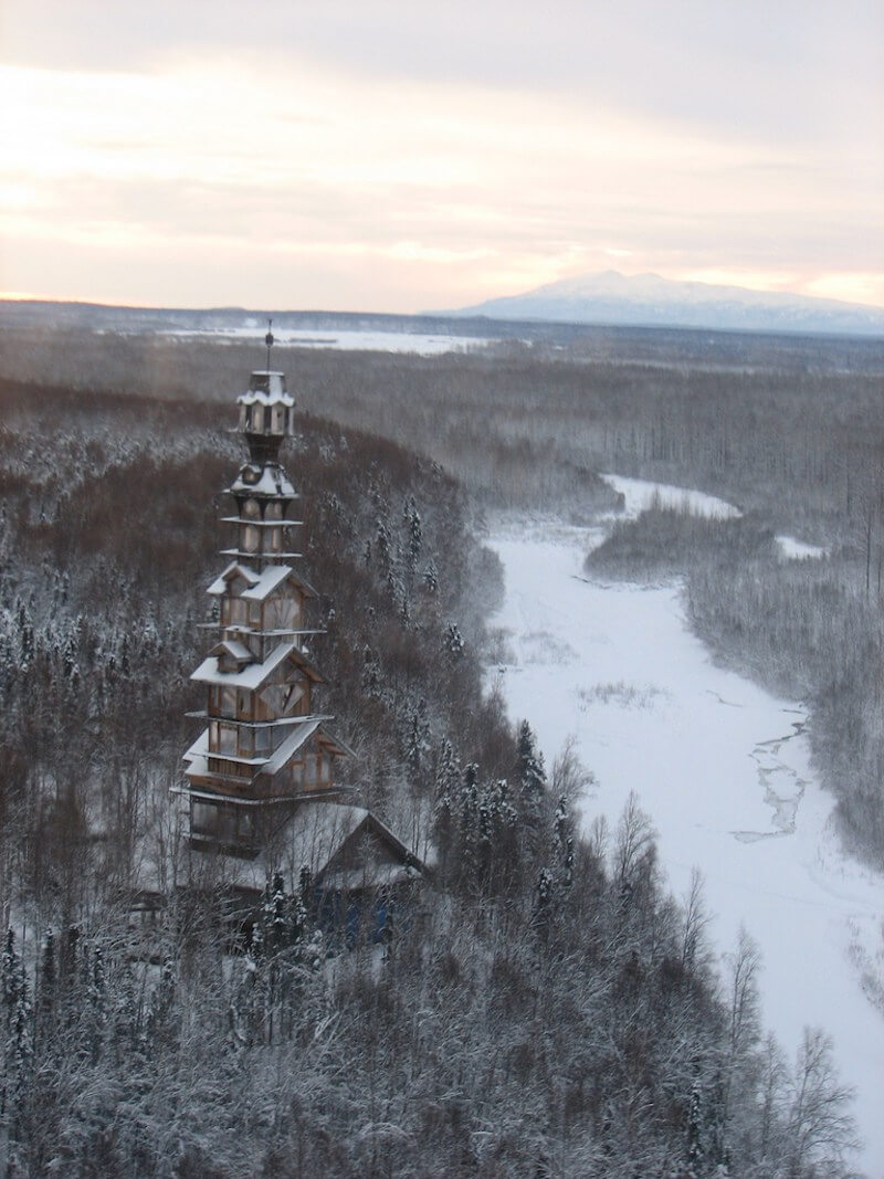 Mysterious Real Life Dr. Seuss House In Alaska 6 (1)