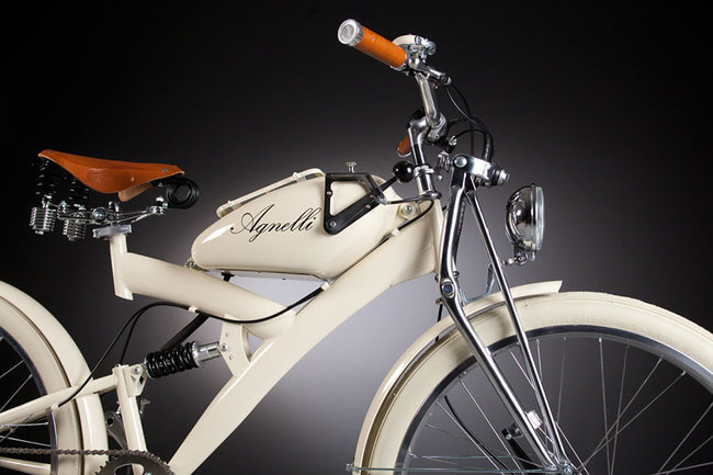 Electric Bikes Made Of Vintage Bike Parts 8