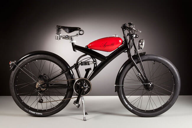 Electric Bikes Made Of Vintage Bike Parts 4