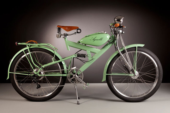 cool electric bikes made of vintage 1950s bike parts. Black Bedroom Furniture Sets. Home Design Ideas
