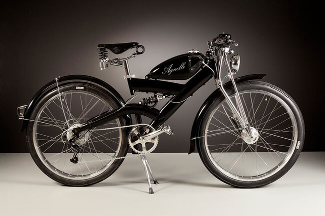 Electric Bikes Made Of Vintage Bike Parts 9