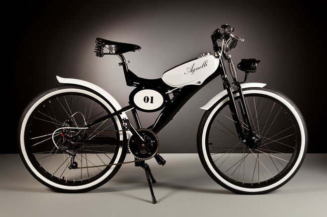 Electric Bikes Made Of Vintage Bike Parts 7