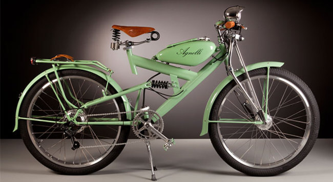 Electric Bikes Made Of Vintage Bike Parts 1