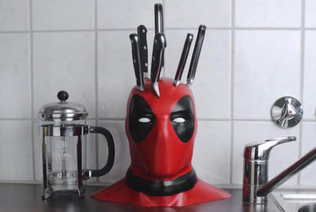 cool Deadpool Knife Block 1