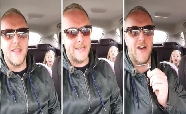 Furious Dad And Four-Year-Old Daughter Argument 1